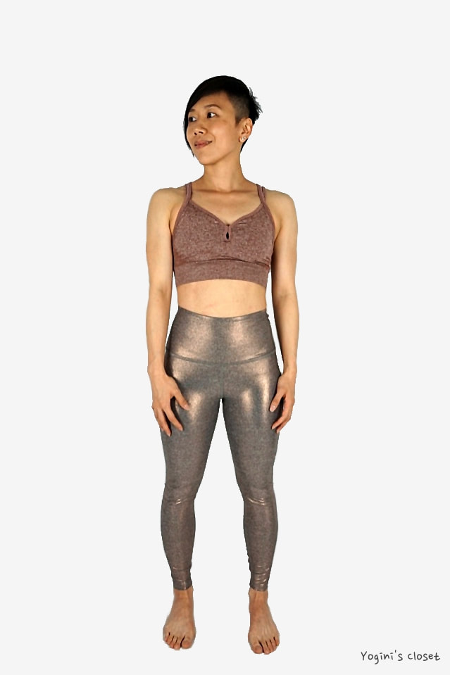 Yoginis Closet Beyond Yoga Dusted High Waisted Midi Legging Review
