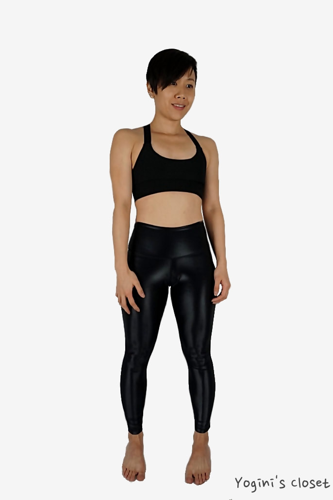 Yoginis Closet DYI High Shine Signature Tight Yoga Legging Review
