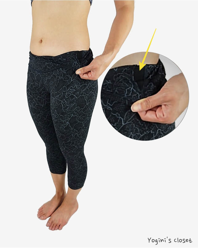 Yoginis Closet Lululemon Align Yoga Crop in Lacescape Dark Cast Black Review
