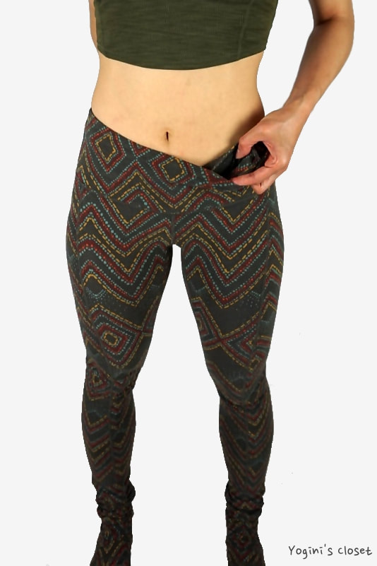 Yoginis Closet prAna Serafina Legging in Rusted Roof Sizzle Review