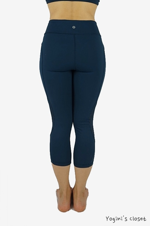 Yoginis Closet Lululemon Twist & Train Crop Yoga Pants Review