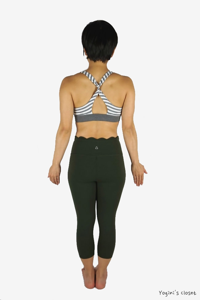 Yoginis Closet Titika Undulation Cropped Legging Review